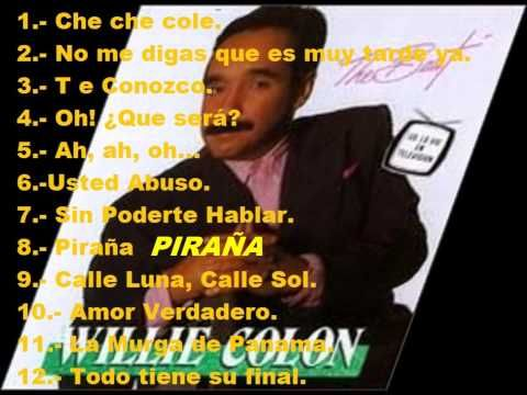 THE BEST by WILLIE COLON - YouTube