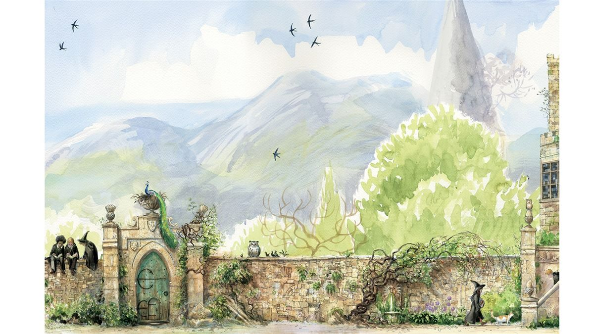 Exclusive First Look Inside The Prisoner Of Azkaban Illustrated