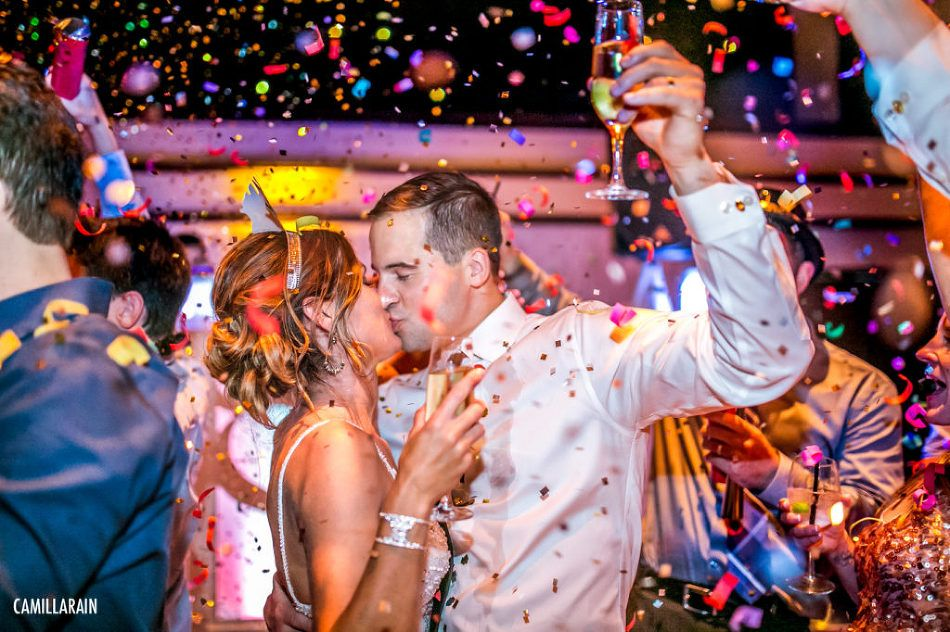New Year's Eve Wedding, Harriet Himmel Theater, West Palm