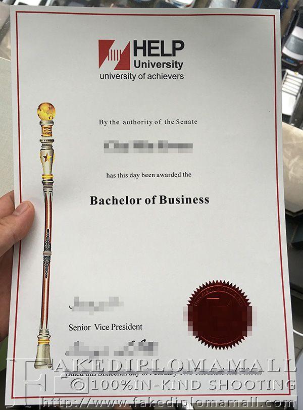 create a degree certificate