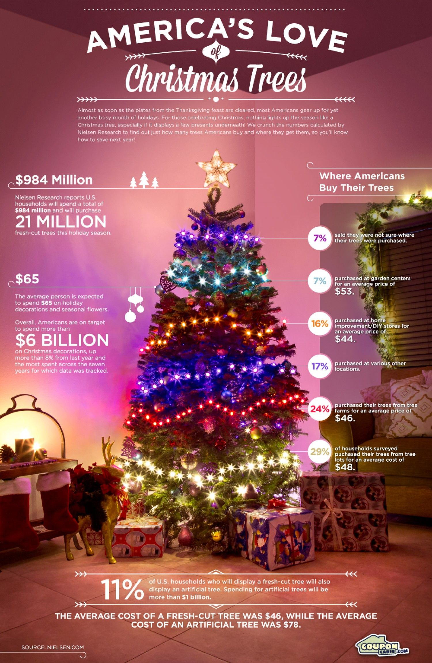 America S Love Of Christmas Trees Infographic Christmas Tree Christmas Tree Images Christmas Tree Inspiration