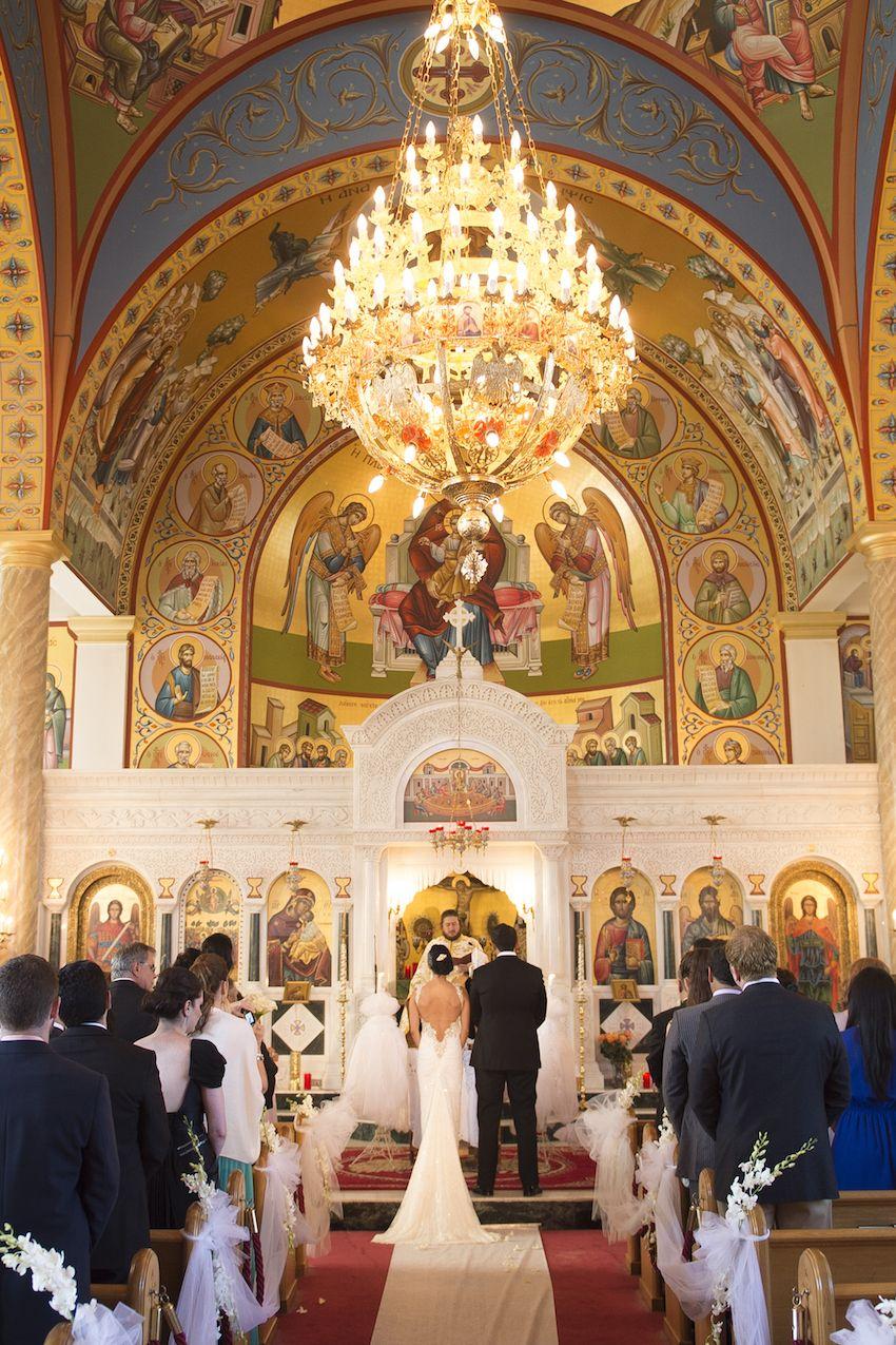 Inside Weddings Greek wedding traditions, Modern wedding