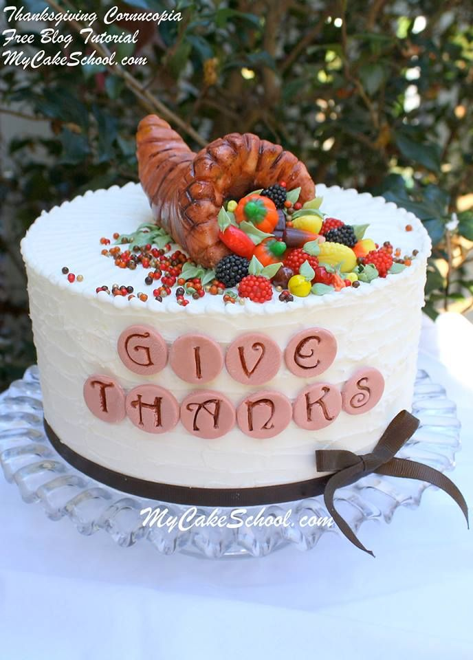 Pin by Debbie Mills on Thanksgiving Pinterest Thanksgiving cakes - halloween decorated cakes