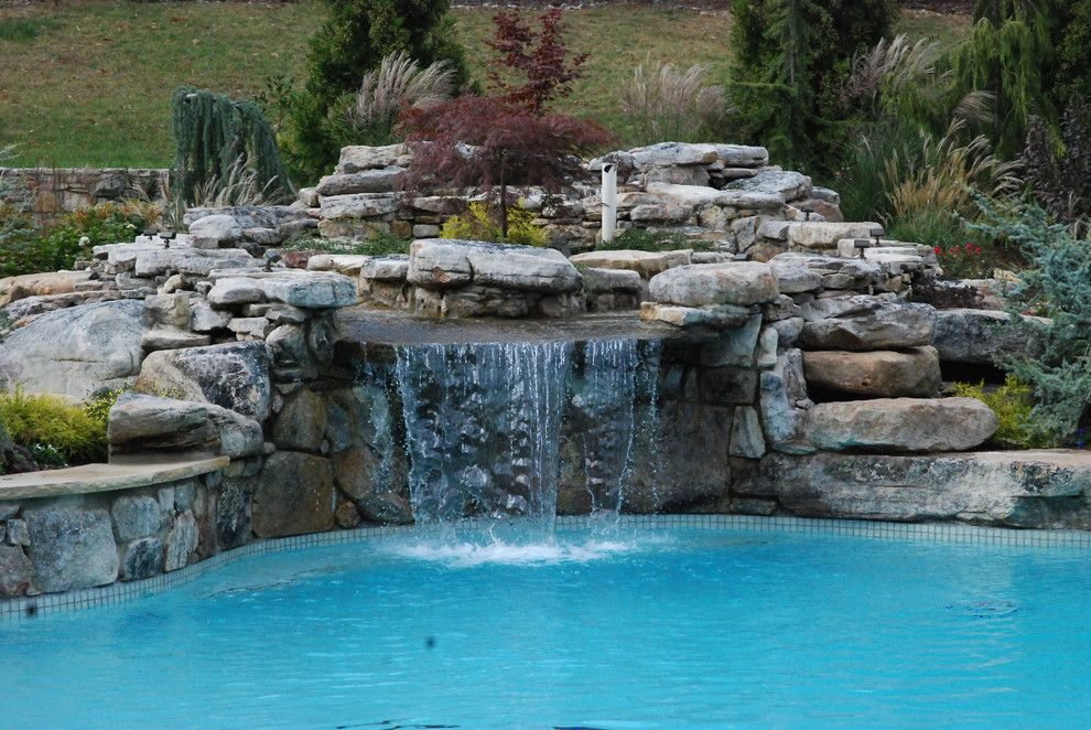 Fresh Fabulous Swimming Pool Waterfall Designs Ideas In Pool Contemporary Design  Ideas With Boulders Hillside Rocks