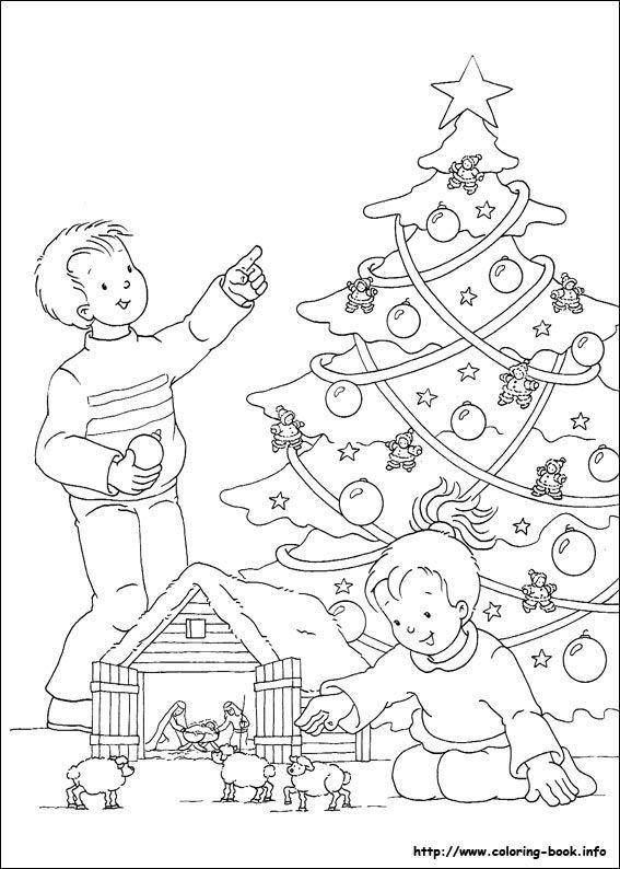 Christmas coloring pages 38 | Christmas coloring pages ...