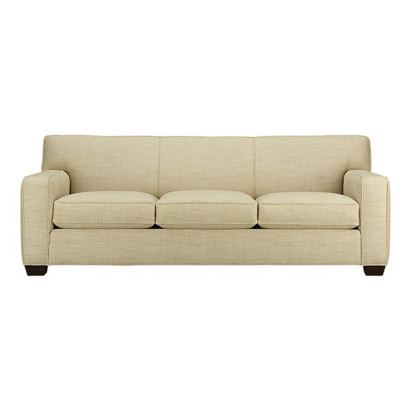 Cameron sofa from Crate and Barrel my new couch Hooray