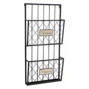 Nice Square Wall Mounted Magazine Newspaper Racks