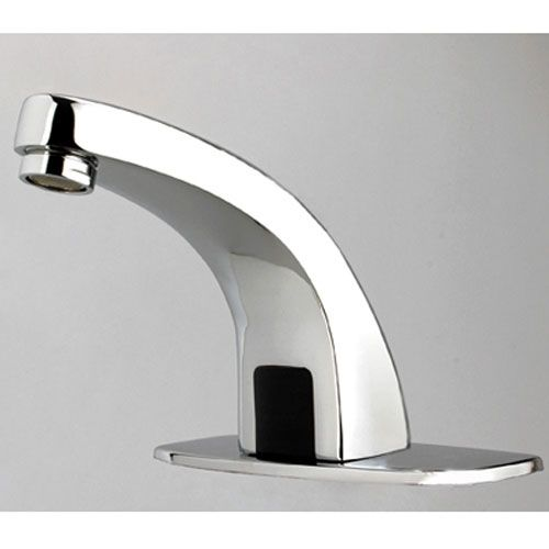 Contemporary Brass Bathroom Sink Faucet with Automatic Sensor - See more  at: http:/