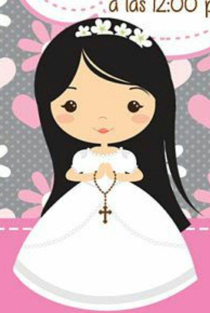 Pin De Betty Reyes En Invitacion Primera Comunion Dibujos Comunion Nina Primera Comunion Etiquetas Dibujos De Primera Comunion