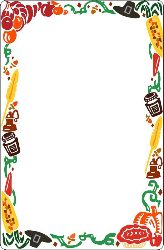 10495 G Jpg 525 800 Food Border Cards Fall