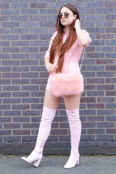 50++ Pink knee high boots ideas ideas in 2021
