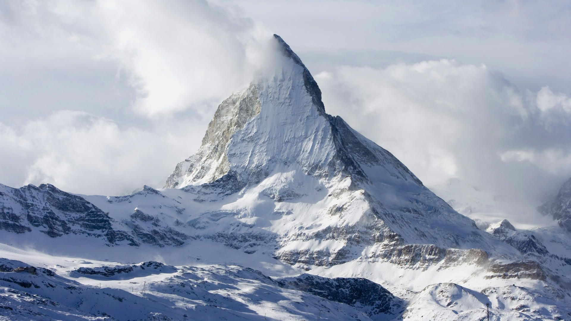 14, il Cervino Vinson Massif, Alps Switzerland, Zermatt, Nature Wallpaper, 1080p