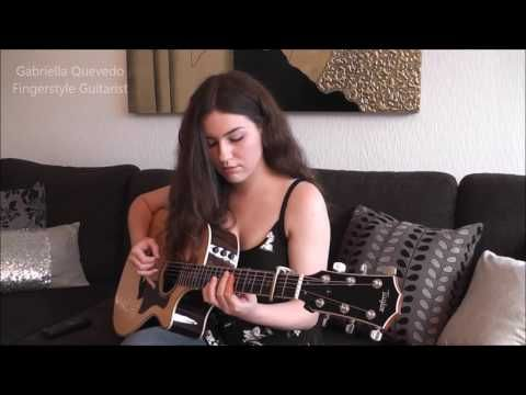 This Girl Plays Another Brick In The Wall Entirely On Acoustic Guitar And It S On A Whole Other Pink Floyd Eric Clapton Wonderful Tonight Fingerstyle Guitar