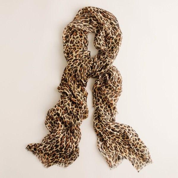 f2aedd66a647e A Leopard Print Scarf is a staple in my wardrobe.   My Style ...