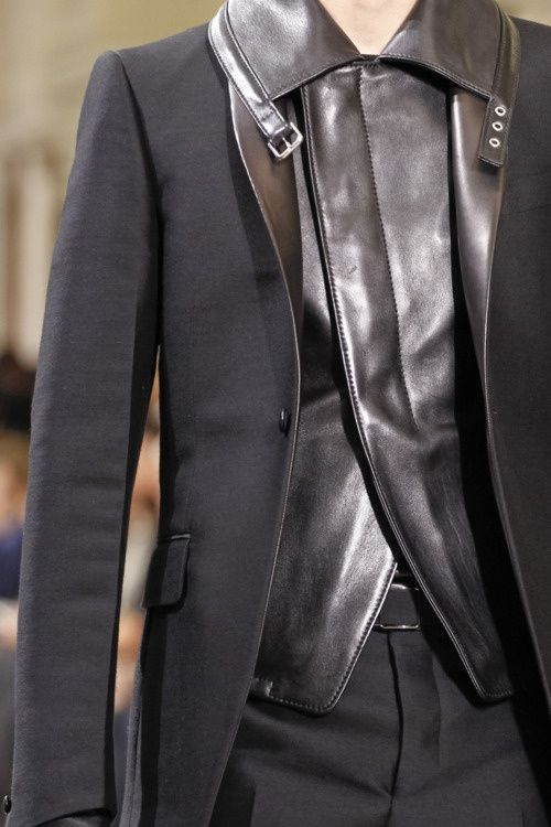 leather suiting