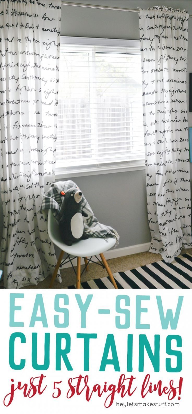 Easy-Sew Curtains