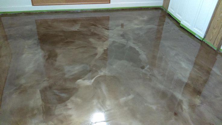Metallic Epoxy Floors Lima Ohio Elite Concrete Creations Design Designer Des Concrete Creationsdesign Des D In 2020 Metallic Epoxy Floor Epoxy Floor Flooring