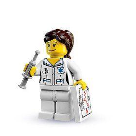 Lego Nurse! - Cute