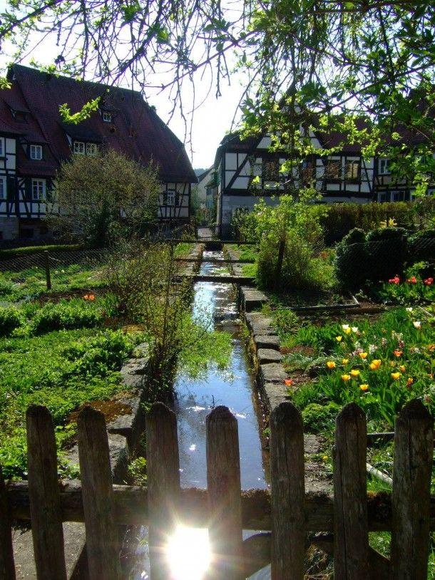 Beautiful Garden In A Small German Village German Village