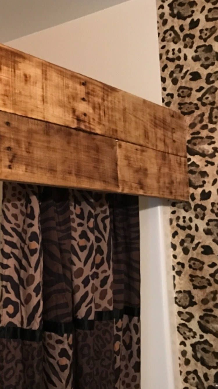 Shower Curtain Valance Shower Curtain Cornice Shower Curtain