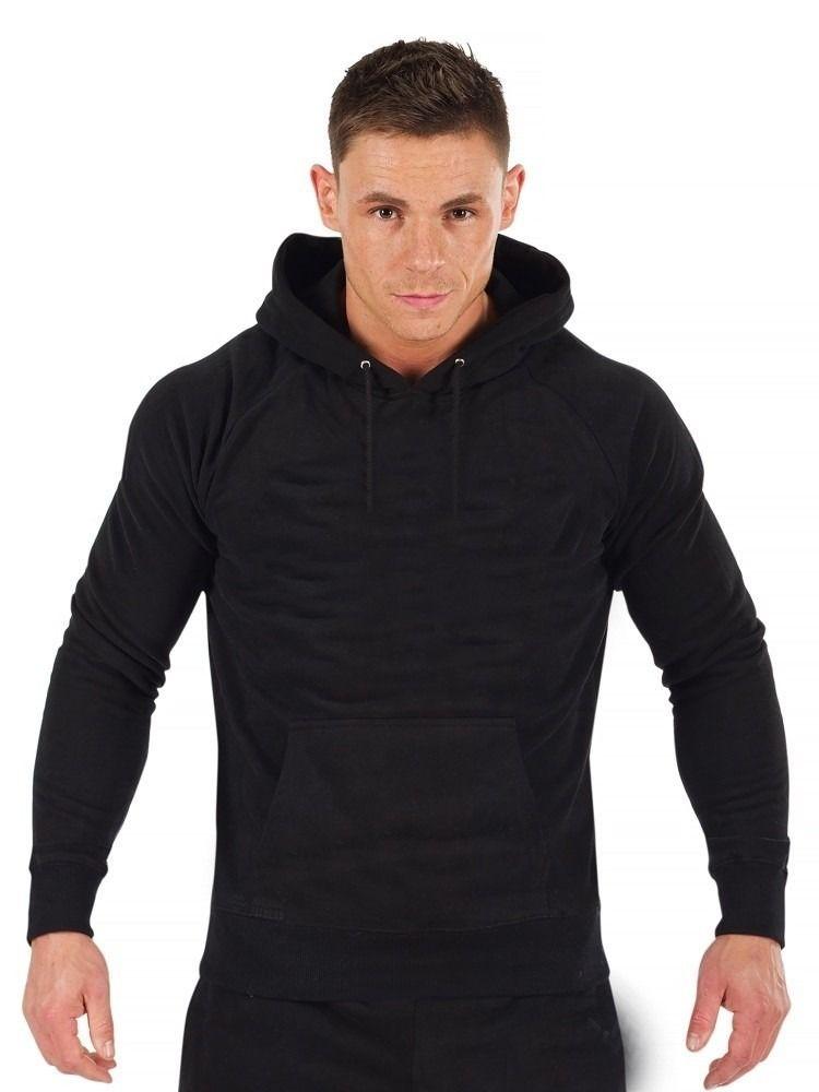 2847a42a1 blusa de moleton canguru masculino liso preto