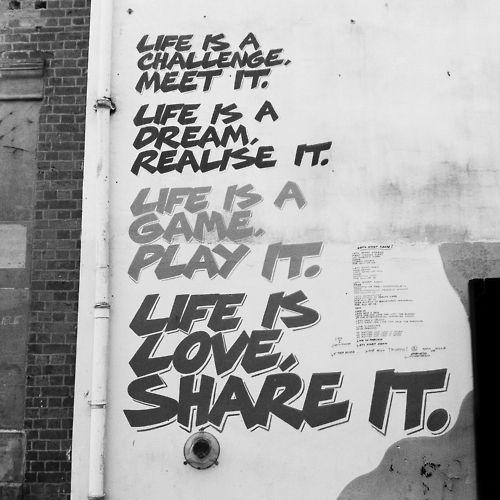 Nottingham street art. Graffiti quotes, Graffiti words