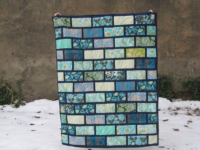 Colourbrick quilt- along by miekita, via Flickr