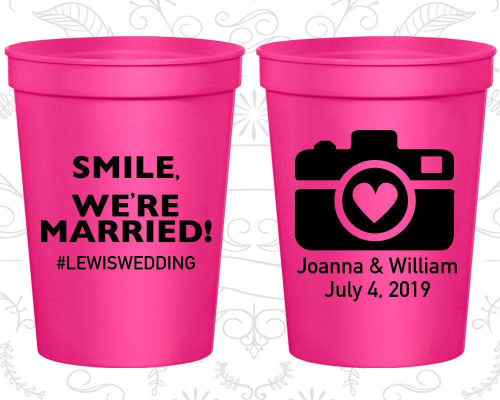 personalized cups wedding favors - Wedding Decor Ideas