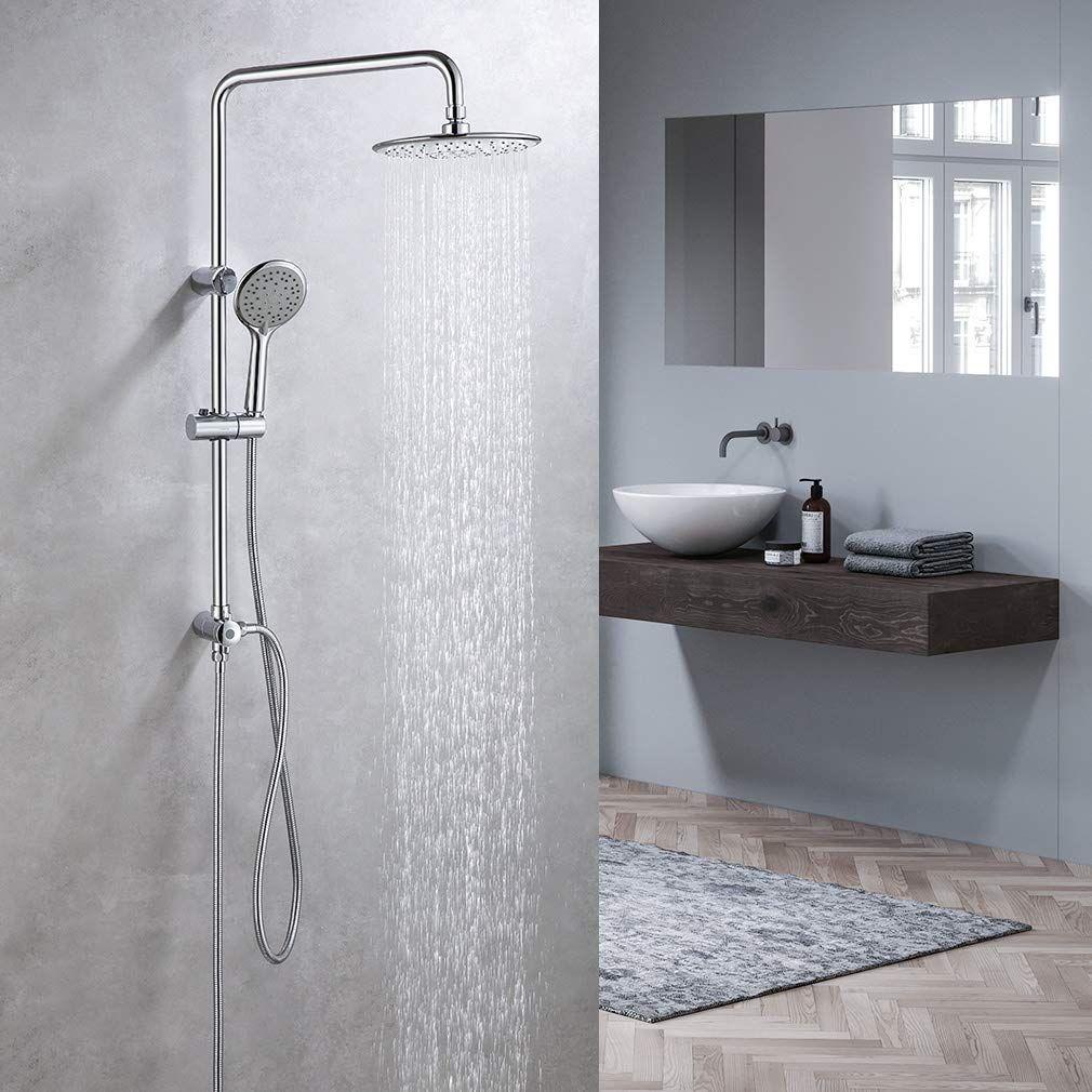 Edelstahl Duschset Regendusche Ohne Thermostat In 2020 Regendusche Duschsysteme Dusche