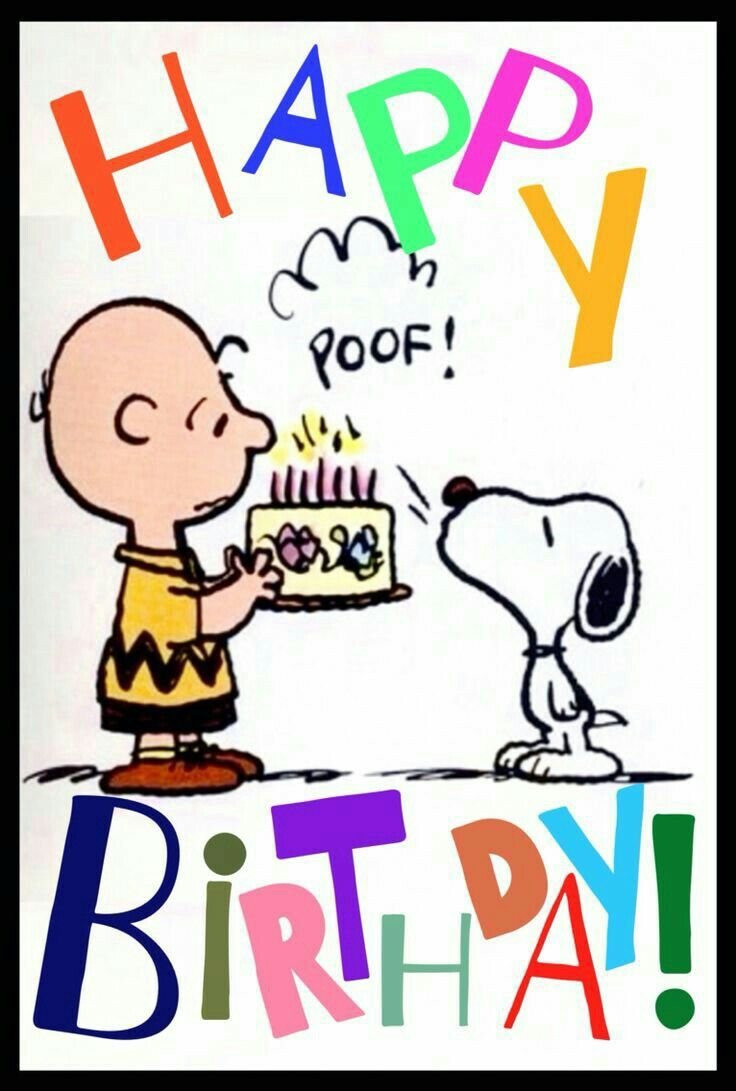 Charlie Brown & Snoopy Birthday | birthday | Pinterest | Snoopy ...