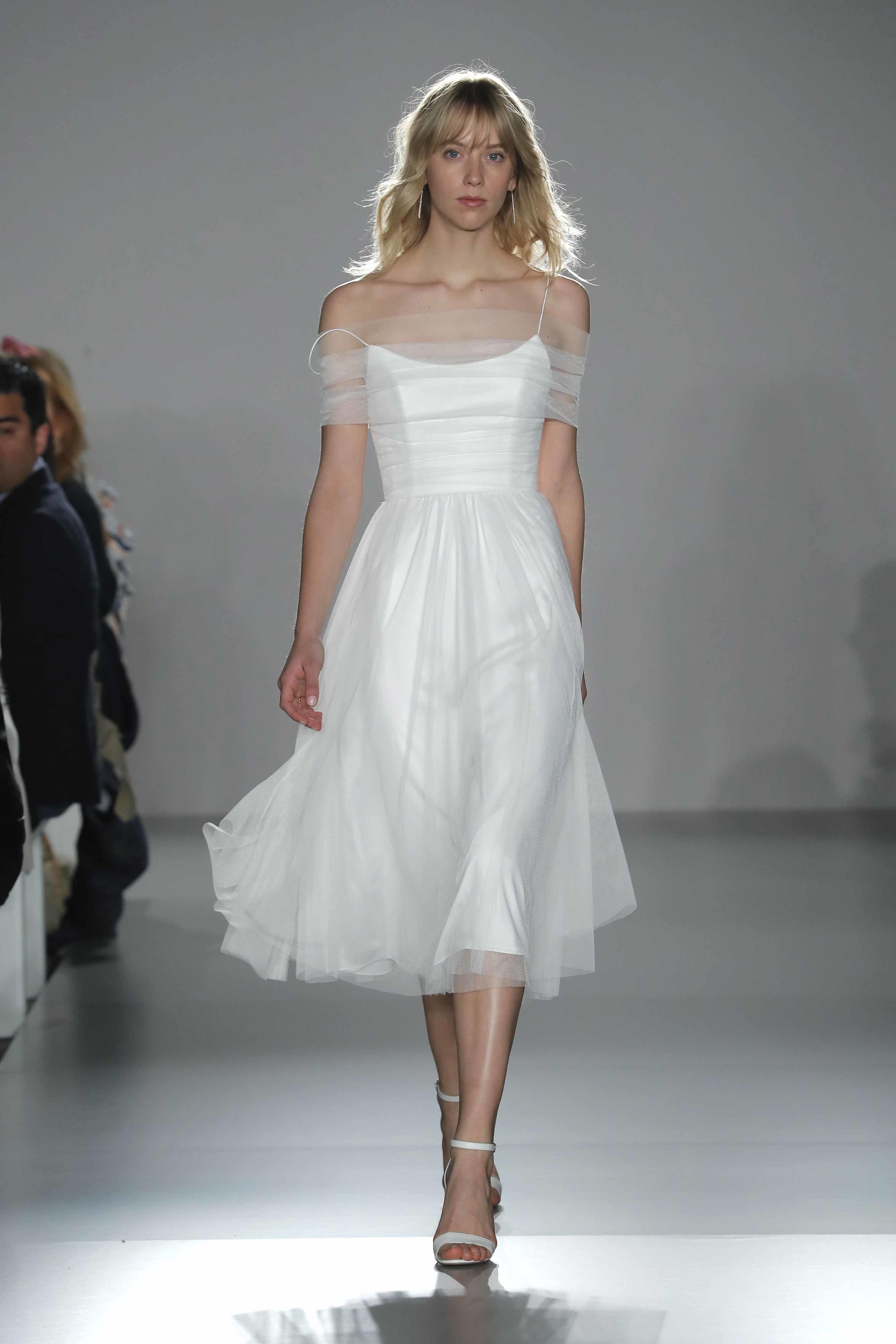 afc8bb323084 Little White Dress by Amsale Bridal Spring 2020 | Bridal Fashion ...