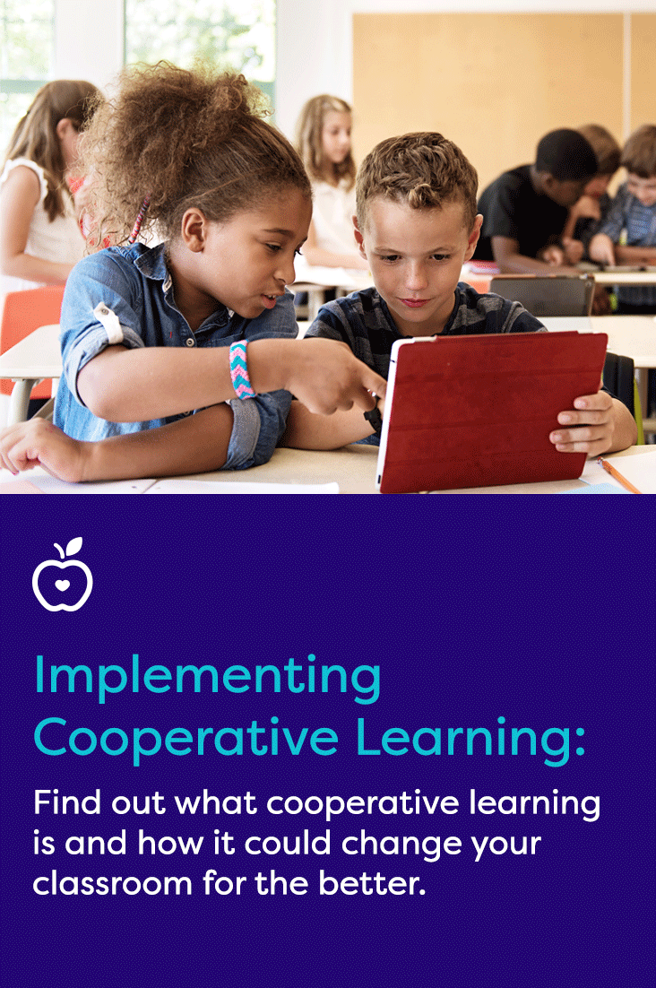 Get information on cooperative learning, an instructional strategy in which small groups of students work together on a common task. This teaching method is an excellent way to allow students to think critically without relying on you for answers.