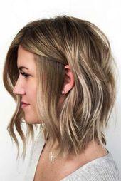 30 Trendy Mittellange Frisuren Fur Dickes Haar Dickes Frisuren Fur Haar Mittellange Tr Frisur Dicke Haare Haarlange Einfache Frisuren Mittellang