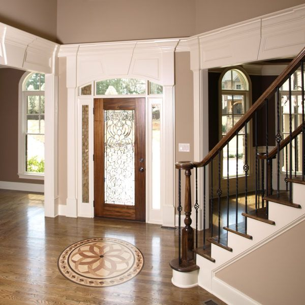 20 Attractive Painted Stairs Ideas: Estancia Wood Medallion In 2019