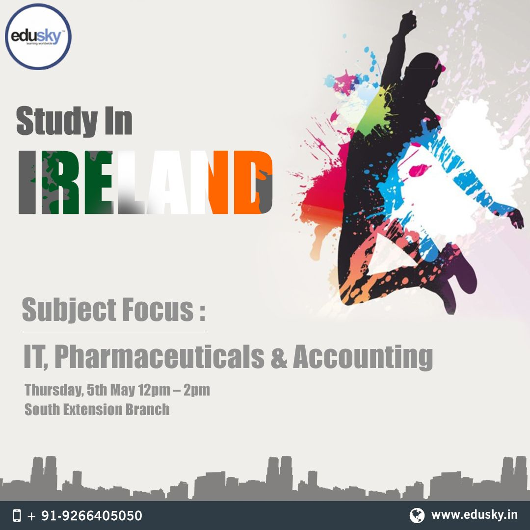 StudyInIreland provides the best avenues if you are