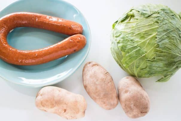 Slow Cooker Kielbasa and Cabbage images