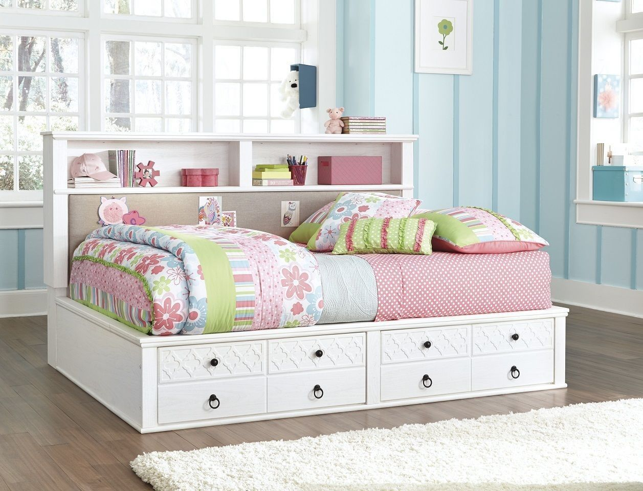 Iseydona Full Bookcase Bed