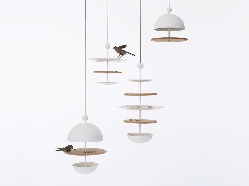 Dish of Desire bird feeders by FREDERIK ROIJÉ