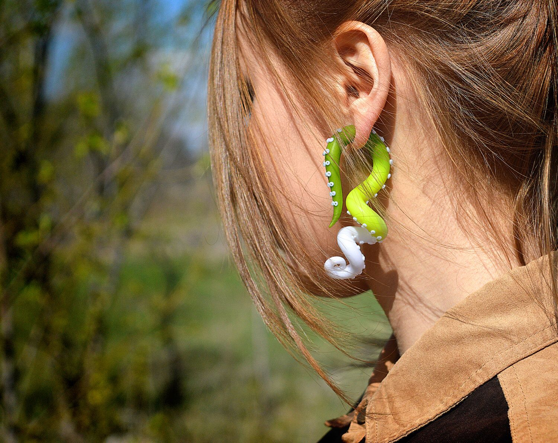 Ear Gauges Worlds Biggest Lobe Wwwtollebildcom