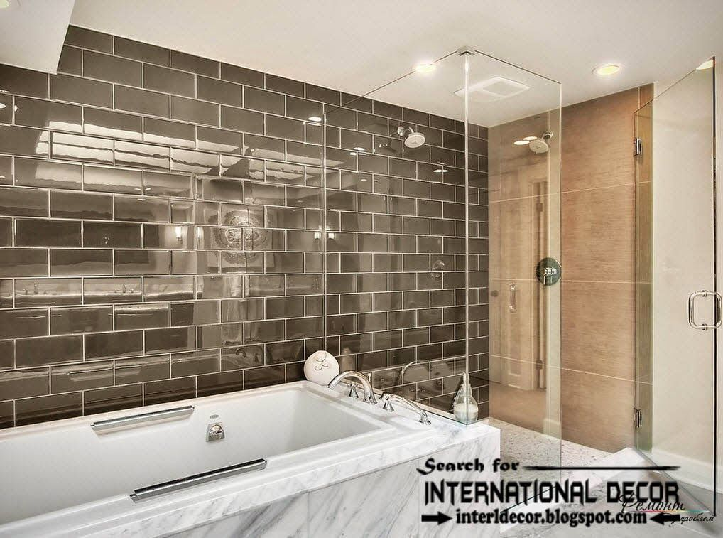 Bathroom Tile Designs 2015 latest beautiful glassy #bathroom #tiles designs ideas and colors