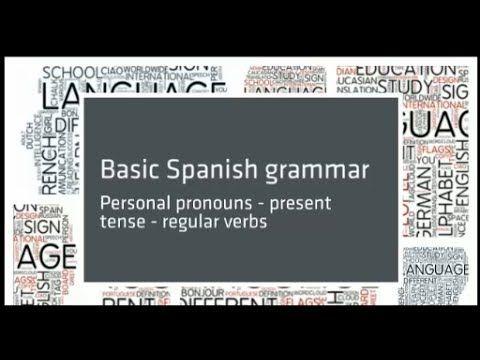 Conversational Spanish 5 Noun Adjective Agreement Spanish
