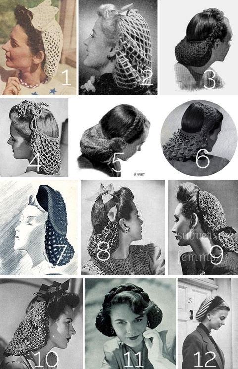 12+free+vintage+snood+crochet+and+knitting+patterns.jpg (481×746 ...