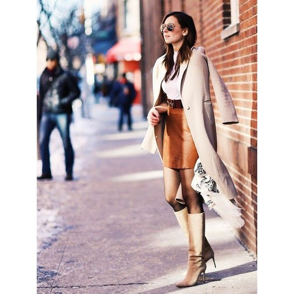 11 Ridiculously Cool Street Style Outfits To Copy Now ❤ liked on Polyvore