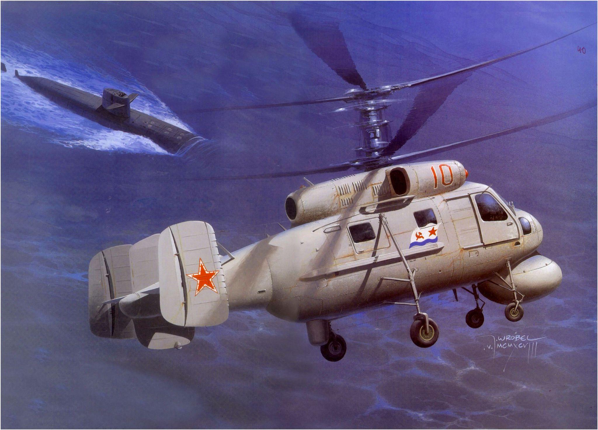 Kamov Ka-25 - Rusia   Aircraft art   Pinterest   Rusia, Avión y Alas