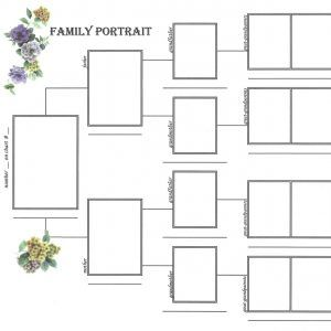 family portrait pedigree chart family tree display options