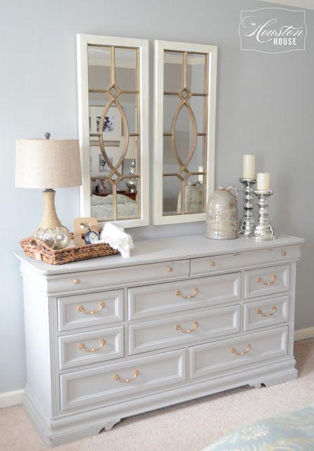 pingl par the houston house llc sur bedrooms pinterest meubles peints meubles et commodes. Black Bedroom Furniture Sets. Home Design Ideas