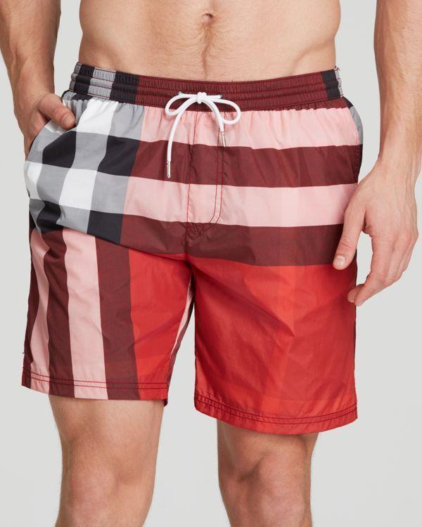 6db394ce3de7 Burberry Brit Gowers Check Shorts