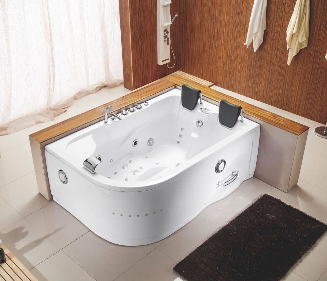 Two 2 Person Indoor Whirlpool Hot Tub Jacuzzi Massage