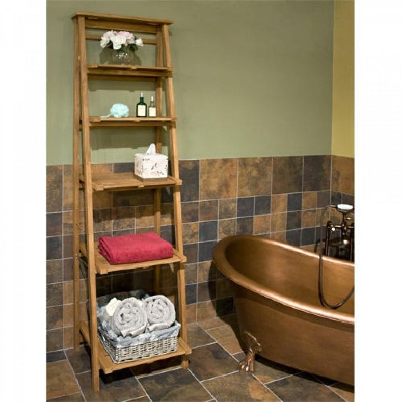 Bathroom Shelves Teak - Bathroom furniture is now an important part ...