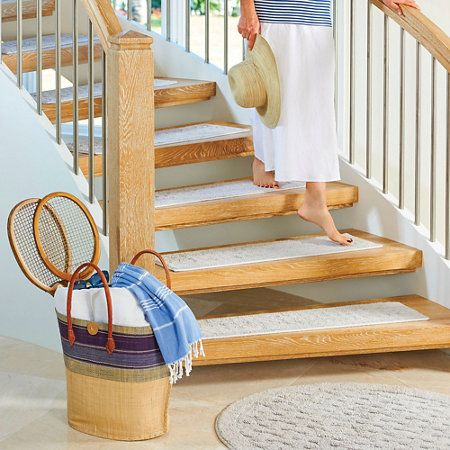 Incroyable Harrison Weave Washable Stair Treads Set Of 4